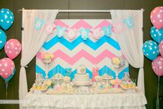 Chevron Themed Gende