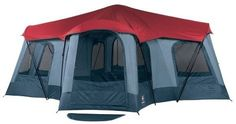 tents for camping with screen room with  lights and fan | click price to see details click image to enlarge click link to go to ...
