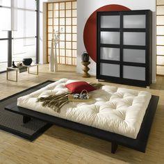 Chambre japonaise design
