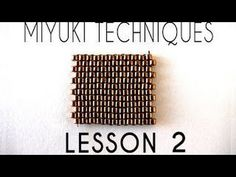 Miyuki Techniques - Lesson 2 - Decrease & Zip Closure ~ Seed Bead Tutorials
