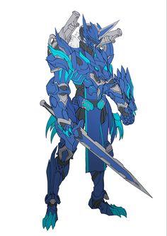 catball1994 on Twitter. Fantasy Concept Art, Fantasy Armor, Fantasy Character Design, Dark Fantasy Art, Character Art, Character Concept, Armor Concept, Weapon Concept Art, Robot Concept Art