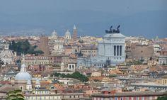 Janiculum Hill views of Rome