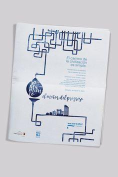 """Fundación We Are Water Creación de la imagen gráfica del evento englobado dentro del """"World Toilet Day"""" Anuncio prensa"""
