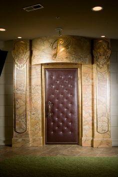 Upholstered door