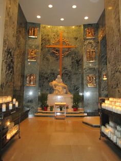Side Chapel - National Shrine of the Immaculate Conception - Washington, DC