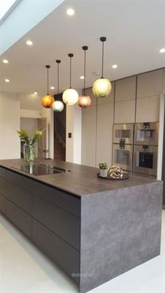 Small Kitchen Lighting Ideas Pictures for Low Ceilings -.- Small Kitchen Lighting Ideas Pictures for Low Ceilings – HARP POST Best Modern Kitchen Lighting Ideas and Tips - Small Kitchen Lighting, Kitchen Lighting Design, Interior Design Kitchen, Home Design, Design Ideas, Modern Interior, Modern Lighting Design, Luxury Kitchen Design, House Lighting Design