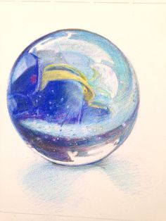 Tackle this marble as part of Kate Clarke's Still Life Textures coming soon to ArtTutor