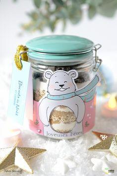 DIY un cadeau gourmand pour Noël : le bocal à biscuits DIY cookies in a jar