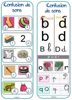 Teaching letter sounds and avoinding letter/sound confusion. Confusion de sons