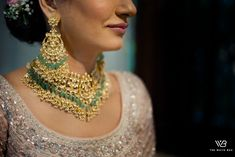 Glam Delhi Wedding With Stunning Décor & Bridal Outfits Indian Wedding Planning, Big Fat Indian Wedding, Indian Wedding Jewelry, Wedding Planning Websites, Green Lehenga, Subtle Makeup, Groom Wear, Bridal Photography, Sweet Couple