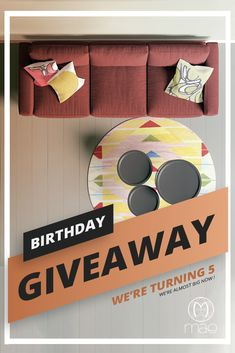 Wish us a happy Birthday ! 😊❤️🎉 How do we celebrate? By giving away a Mae Artisan Rug worth What are you waiting for? 👇 Link below