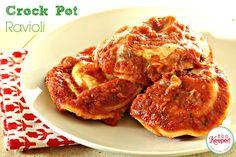 easy crock pot recipes crock pot ravioli it's a keeper