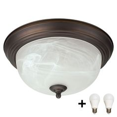 "Bennington IFM413ORB-A19 Oil Rubbed Bronze Flush Mount 13"" Ceiling Light Fixture Globe with Alabaster Glass Shade   Bulbs Rustic Kitchen Lighting, Kitchen Lighting Fixtures, Ceiling Light Fixtures, Ceiling Lights, Ceiling Fan, Flush Mount Lighting, Flush Mount Ceiling, Residential Lighting, Oil Rubbed Bronze"