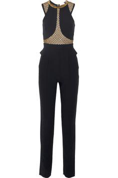 Sass & bide Just Like Me embellished crepe jumpsuit NET-A-PORTER.COM