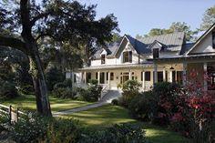 Carpenter Gothic Cottage | Spring Island, South Carolina - traditional - exterior - charleston - Historical Concepts
