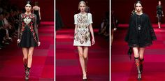 Desfile Dolce & Gabbana Primavera-Verão 2015 - Blog Ma Beraldo