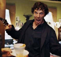 My face when someone denies me tea! XD