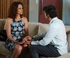 Irene (Mali Galli) e Caio (Fernando Alves Pinto) recebem a oportunidade de uma nova adoção, no últim... - Divulgação, TV Globo