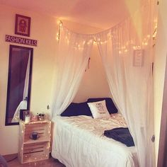 This is dope asf. & 20+ Creative and Simple DIY Bedroom Canopy Ideas on A Budget ...