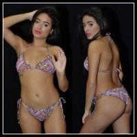 Biquíni IT GIRL com calcinha Ripple Ref.11988 Tamanhos P e G.