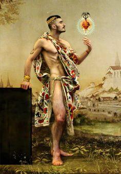 'The love of God Hermes' by Hector de Gregorio