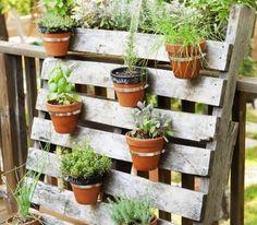 comment faire un jardin vertical en palette soi - Comment Faire Un Jardin Vertical