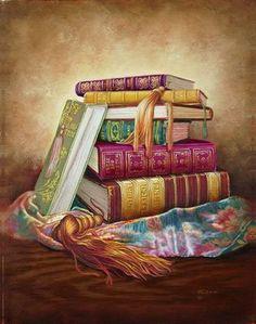 Judy Gibson - Old Books II