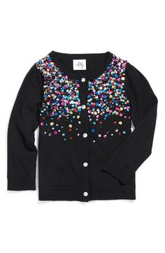 Milly Minis Sequin Cardigan (Toddler Girls, Little Girls & Big Girls) available at #Nordstrom