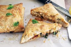 Goat Cheese Squash Turnovers