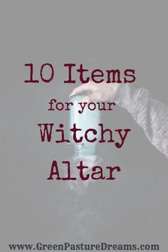10 Things for your Witchcraft Altar Having a magical space is essential to every witches practice. Witchcraft Symbols, Green Witchcraft, Magick Spells, Witchcraft Books, Witch Alter, Pagan Beliefs, Elemental Magic, Witchcraft For Beginners, Wiccan Altar