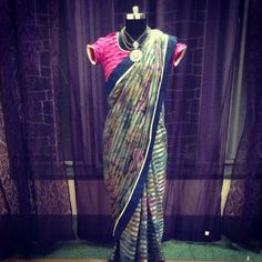 Sari by Ayush Kejriwal , To find out more about my brand  or purchases visit my Facebook page - Ayush Kejriwal #sarees,#saris,#indianclothes,#womenwear, #anarkalis, #lengha, #ethnicwear, #fashion, #ayushkejriwal