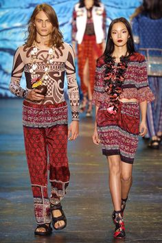 Anna Sui- Spring 2016 #fashionweekfrenzy