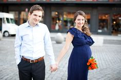 Maternity: charming & romantic city session