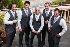 Lucas & Shealee. Bride & Groom, wedding, suit, groomsmen.