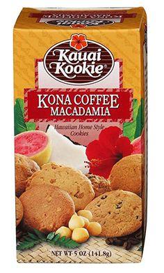 Kauai Kookies Kauai Kona Coffee Macadamia, 5 oz.: Amazon.com: Gateway Hawaiian Cookies, Macadamia Cookies, Master Baker, Kona Coffee, Chocolate Morsels, Unsweetened Cocoa, Kauai, Quick Easy Meals, Chocolate Recipes