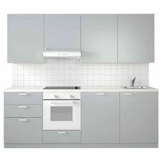 Winkelküche Klein Plastic Hinges, Plastic Foil, Drawer Rails, Drawer Fronts, Base Cabinets, Kitchen Cabinets, Ikea Metod Kitchen, Inset Sink
