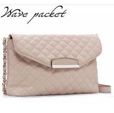 Mango Bag Women Handbag Plaid Leather Bag Chain Women Messenger Bag Designer Cross body Shoulder bag Wholesale Bolsas Fmininas