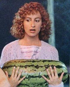 I carried a watermelon.