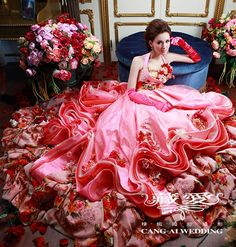 Cang-Ai Wedding >> Evening gowns- picture 03 >> www.cangai.tw