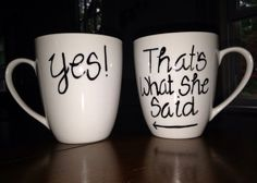 Hey, I found this really awesome Etsy listing at https://www.etsy.com/listing/194970891/engagement-coffee-mugs