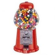 Metal GumBall Coin Machine 23cm