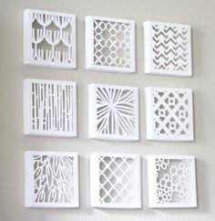 cut out canvas pattern - Google Search