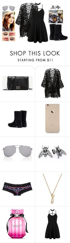 """""""Spider Web"""" by teodoramaria98 ❤ liked on Polyvore featuring Chloé, Yves Saint Laurent, Victoria's Secret PINK, Anne Klein, Victoria's Secret and WithChic"""