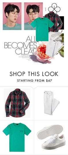 """""""lucky one"""" by kkateyg on Polyvore featuring J.Crew, Lands' End, Puma and All In"""