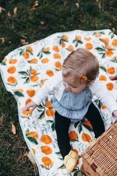 Clementine Reversible Quilt by Clementine Kids Little Mac, Baby Swaddle Blankets, Everything Baby, Future Baby, Baby Love, Picnic Blanket, Baby Car Seats, Baby Kids, Baby Baby