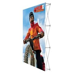 5ft x 7.5ft Straight RPL Fabric Display no Endcaps. RPL Fabric Pop Up Trade Show Display Single Sided is the perfect display on the go. RPL Fabric PopUp Display is the alternative display for Ready Pop fabric pop-up trade show backwall display#Tradeshow#popup#display#backwall#backdrop#fabric#Custom#exhibit#ideas#wall#expo#exposition#readypop