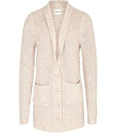Reiss Ruby RIBBED LONG CARDIGAN  I have a serious obsession with sweaters!