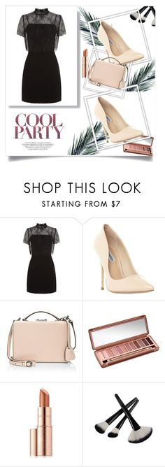 """style"" by nimeda ❤ liked on Polyvore featuring Sandro, Steve Madden, Mark Cross, Urban Decay and Estée Lauder"