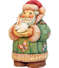 4 G Debrekht Santa Toy-Bag Gift Expressions Santa