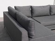 PARADISO Lounge Modul Ecke Loungegruppe Exotan | Teak & Nanotex ...